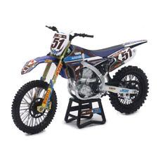 Justin BARCIA jgr YAMAHA YZF 450 - 1:12 Die-Cast Juguete Motocross Moto Escala