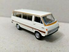 Tomytec 1/80 HO scale model car 80s-Toyota HiAce Classic Light Vehicle Van White