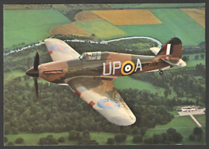 POSTCARD Aircraft HAWKER HURRICANE 11B In Flight