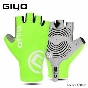 Cycling Half Finger Gloves Anti-slip Mittens Racing