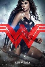 Película de Batman V Superman Mujer Maravilla de película A4 A3 Impresión de Arte Cartel Cine