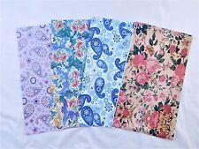100 Paisley Designer 6x9 Mailers Poly Shipping Envelope Boutique Bag Rose Blue