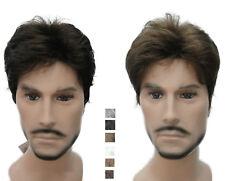Menfolk Man Men Male Daily Wear Hair Full Wig short straight wigs 9 colors