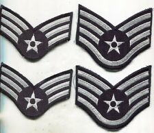 USAF US Air Force Rank Stripes Patch Lot of 2 Pairs