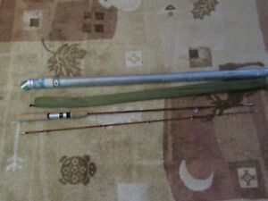 Vintage Rare Orvis Manchester Impregnated Bamboo Spinning Rod 17048 NEW UN-USED
