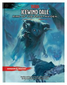 D&D Icewind Dale: Rime of the Frostmaiden Dungeons & Dragons 5E HC Campaign NEW