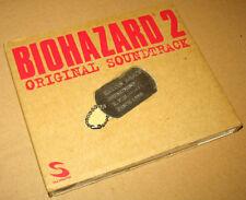 Resident evil Biohazard 2 Original Soundtrack OST with RPD Dog Tag Capcom 1998