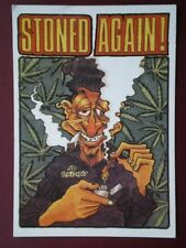 POSTCARD OTHER POSTCARDS STONED AGAIN - SPACE CADET