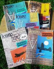 ICARE N°141 à 153 : Aviateurs et Résistants - 5 volumes Revue Aviation 1992