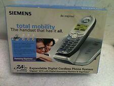 New Siemens Gigaset 4215 2.4Ghz S/Black Cordless Phone