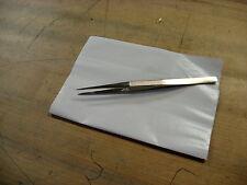 "Standard Diamond Tweezer 6"" Long, Fine Serrated Points, Made In Switzerland New"