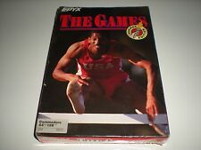 The Games Summer Edition.  Commodore 64. Epyx. Sealed but slightly squished box.