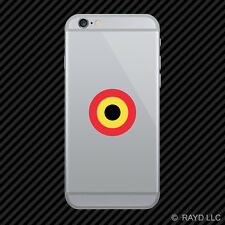 Belgian Air Component Roundel Cell Phone Sticker Mobile Belgium BEL BE