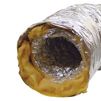 """ACOUSTIC LOW NOISE SOUND INSULATED DUCTING 4 5 6 8 10 12"""" HYDROPONICS"""