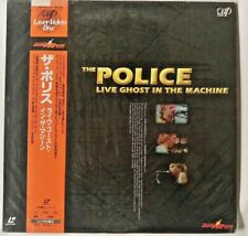 """LASERDISC """"The Police - Live Ghost in the machine"""" JAPAN"""