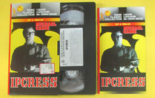 VHS film IPCRESS Michael Caine RANK CLASSIC COLLECTION spy triller(F107) no dvd