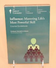 2013 The Great Courses DVD Influence Mastering Life's Most Powerful Skill Brown