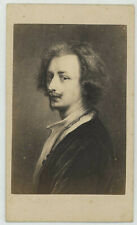 CDV. Le peintre hollandais Antoine van Dyck. Gustav Schauer à Berlin.
