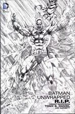 BATMAN: R.I.P. UNWRAPPED EDITION HARDCOVER Tony Daniel Pencils DC Comics ART HC