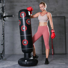 Inflatable Boxing Bag Training Exercise Punching Stand Fitness Equipment