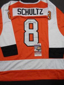 Dave Schultz Autographed Custom Philadelphia Flyers Style PHILA Jersey /COA