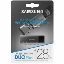 Samsung DUO PLUS 128GB USB-C Memory Stick 3.1 Flash Drive MUF-128DB - 300MB/s