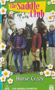 The Saddle Club - Horse Crazy (DVD, 2003)  AUSTRALIAN REGION 4