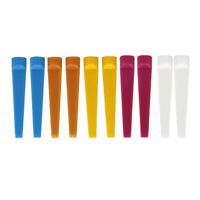 Wedge Tees Golf Tee Divot Repair Groove Cleaner Tool 10 Pack Assorted Color