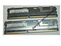 Original 8GB RAM DDR3 ( 2x 4GB ) Hynix HMT151R7TFR8C - G7 D7 AB PC3 8500R ECC