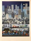 """Jane Wooster Scott Signed & Numbered L/ED Lithograph """"New York, New York"""""""
