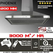 1200mm X 700mm Commercial Canopy Alfresco Indoor Outdoor Bbq Rangehood 1.2m