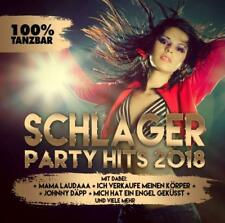 SCHLAGER PARTY HITS 2018   CD NEUF
