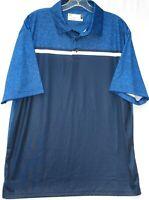 Nicklaus short sleeve staydri golf shirt men's size large