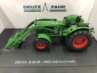 Universal hobbies 1/32 Deutz-Fahr d6005 4wd With Front Loader Diecast UH5307