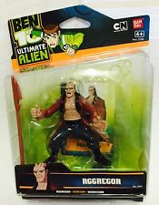 BEN 10 ULTIMATE ALIEN 10cm FIGURE - AGGREGOR - BNOC