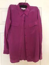 Equipment Femme  Womens Button Down Silk Blouse Size Medium