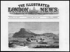 1881 antica stampa-EAST AFRICA CENTRALE manganya Nativi TESSITURA TELAIO (69)