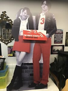 The White Stripes Promotional Cardboard Stand