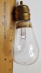 Packard Westinghouse Base Working Antique Light Bulb