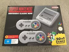 Genuine Super Nintendo SNES Mini Classic Brand New *AUS MODEL In stock Now!!!