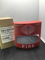 New Simplex 49AVC-WRFIRE Red Wall Addressable Strobe Fire Alarm COVER, 07431100
