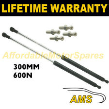 2X Muelles de gas puntales Universal Kit de coche o de conversión 350 mm 35 cm 600N & 4 Pines