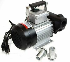 110V 370W Ac16Gpm Oil Transfer Pump Fuel Diesel Kerosene Biodiesel Self Priming