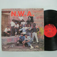 N.W.A. And The Posse - S/T LP 1987 US Ruthless/ Macola Dr. Dre ICE CUBE EAZY-E