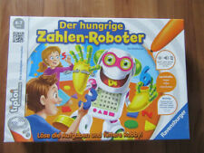 Ravensburger Tiptoi Der hungrige Zahlen-Roboter, guter Zustand