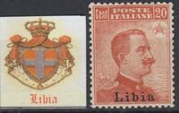 ITALY  LIBIA  n.20 MNH** cv 72$ super centered