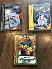 Amstrad DISK Games- Wizards Lair, Who Dares Wins II And Nuclear Defence