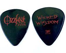 Wicked Wisdom Guitar Pick  Ozzfest 2005 Guitar Pick.