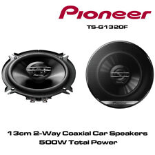"""PIONEER TS-G1320F 13cm 5.25"""" 13cm 500W PAIR CAR SPEAKERS 2WAY Coaxial Co axial"""
