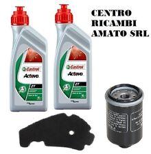 KIT TAGLIANDO FILTRO ARIA+OLIO+2LT CASTROL X8 EURO3 400 2006 06